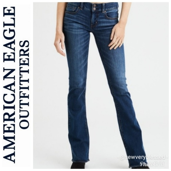 American Eagle Outfitters Denim - 6 Long American Eagle Artist Jeans Flare Bootcut L